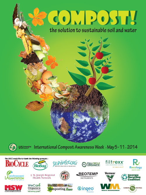 2014 ICAW Poster - Compost: The Solution to Sustainable Soil & Water